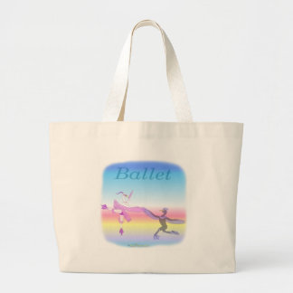 Cool Ballet gifs for kids Large Tote Bag