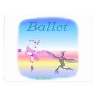 Cool Ballet gifs for kids Postcard