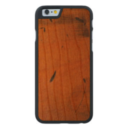 Cool Baltic Pine Wooden Carved® Wood Carved Cherry iPhone 6 Slim Case