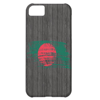 Cool Bangladeshi flag design Cover For iPhone 5C