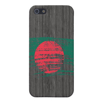 Cool Bangladeshi flag design iPhone 5 Cases
