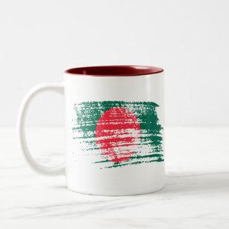 Cool Bangladeshi flag design Mugs