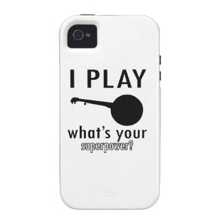 Cool Banjo Musical Instrument Designs Case For The iPhone 4