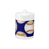 cool baseball ball Teapot