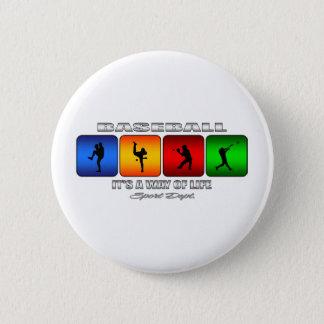 Cool Baseball Button