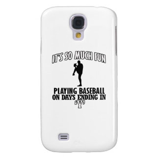 cool Baseball DESIGNS Samsung Galaxy S4 Cover