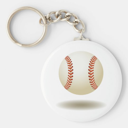 Cool Baseball Emblem Keychain