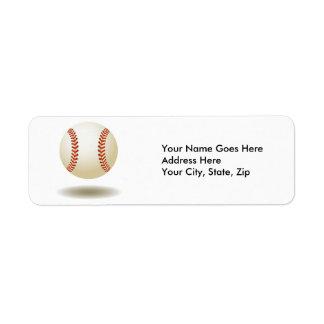 Cool Baseball Emblem Label