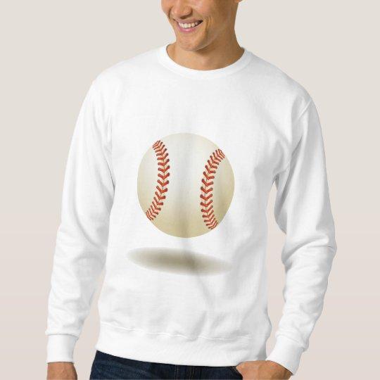 Cool Baseball Emblem Sweatshirt