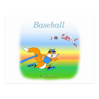 Cool Baseball kids Items Postcard