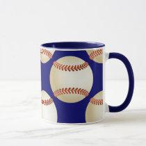 cool baseball mugs