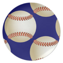 cool baseball plates