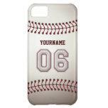 Cool Baseball Stitches - Custom Number 06 and Name iPhone 5C Cover