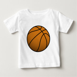 Cool Basketball and Custom Sports B Ball Baby T-Shirt
