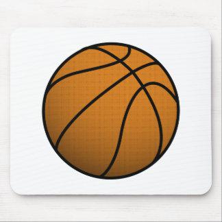 Cool Basketball and Custom Sports B Ball Mouse Pad