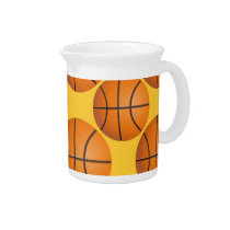 cool basketball ball beverage pitcher