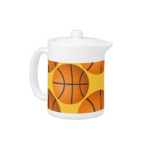 cool basketball ball Teapot
