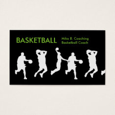 Cool Basketball Business Cards at Zazzle