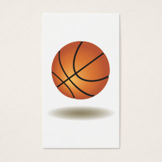 Cool Basketball Emblem Business Card