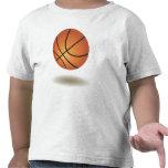 Cool Basketball Emblem Tee Shirt