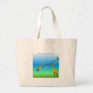 Cool Basketball gifts for kids Canvas Bags