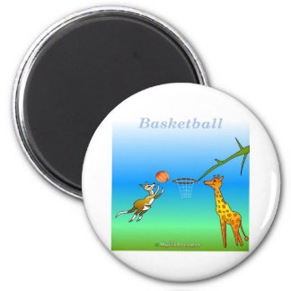 Cool Basketball gifts for kids Magnet