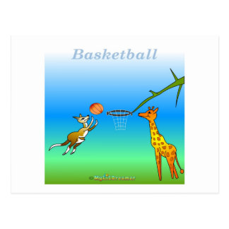 Cool Basketball gifts for kids Postcards