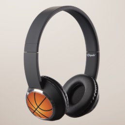 Cool Basketball Headphones
