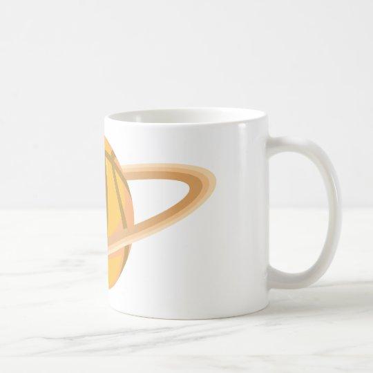 Cool Basketball Icon Logo Shirt Coffee Mug