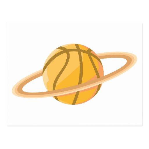 Cool Basketball Icon Logo Shirt Postcard