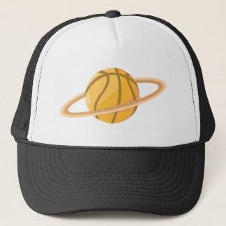 Cool Basketball Icon Logo Shirt Trucker Hat