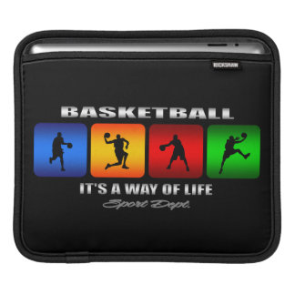 Cool Basketball It Is A Way Of Life Sleeve For iPads