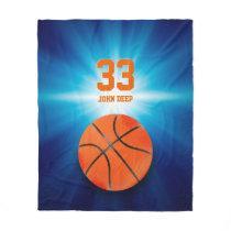 Cool Basketball Player | Sport Gift Fleece Blanket