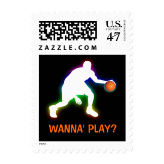 Cool Basketball Player | Sport Gift Postage