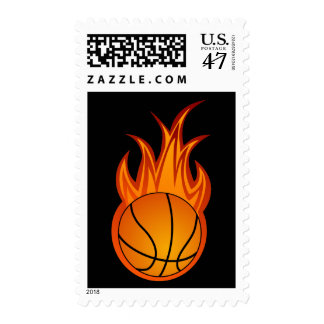 Cool Basketball Postage