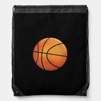 Cool Basketball | Sport Gift Drawstring Backpack