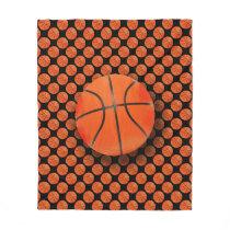 Cool Basketball | Sport Gift Fleece Blanket