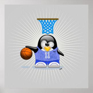 Cool Basketball Star Print
