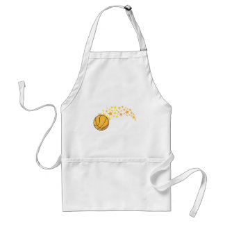 Cool Basketball Stars Icon Logo Shirt Adult Apron