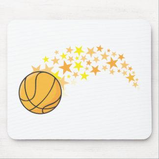 Cool Basketball Stars Icon Logo Shirt Mouse Pad