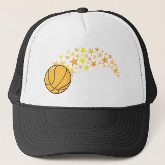 Cool Basketball Stars Icon Logo Shirt Trucker Hat