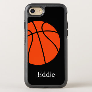 Cool Basketball Theme OtterBox Symmetry iPhone 7 Case