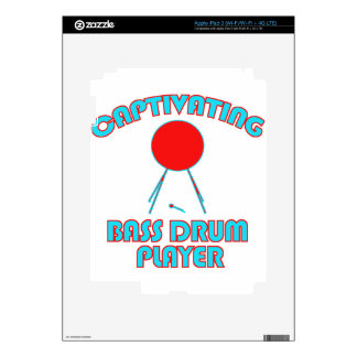 cool Bass drum DESIGNS iPad 3 Skins