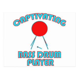 cool Bass drum DESIGNS Postcard