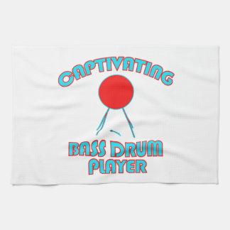 cool Bass drum DESIGNS Towel