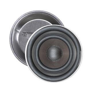 Cool Bass Loudspeaker Button