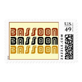 Cool Bassoon Postage