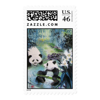 cool bath postage stamps