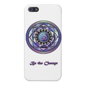 Cool Be the Change Mandala Case