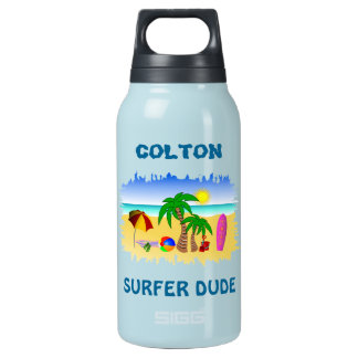 Cool Beach Bum Surf Surfer 0.3L Thermo Bottles